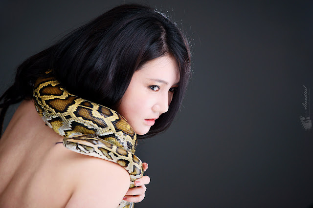5 Snake Girl - Han Ga Eun  - very cute asian girl - girlcute4u.blogspot.com