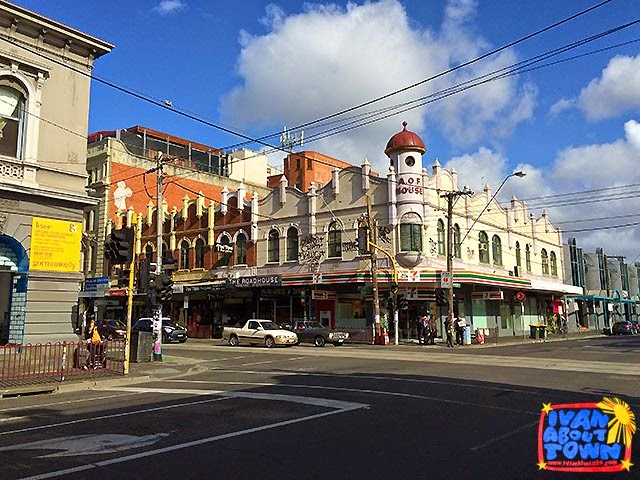 Brunswick Street in Mebourne, Australia