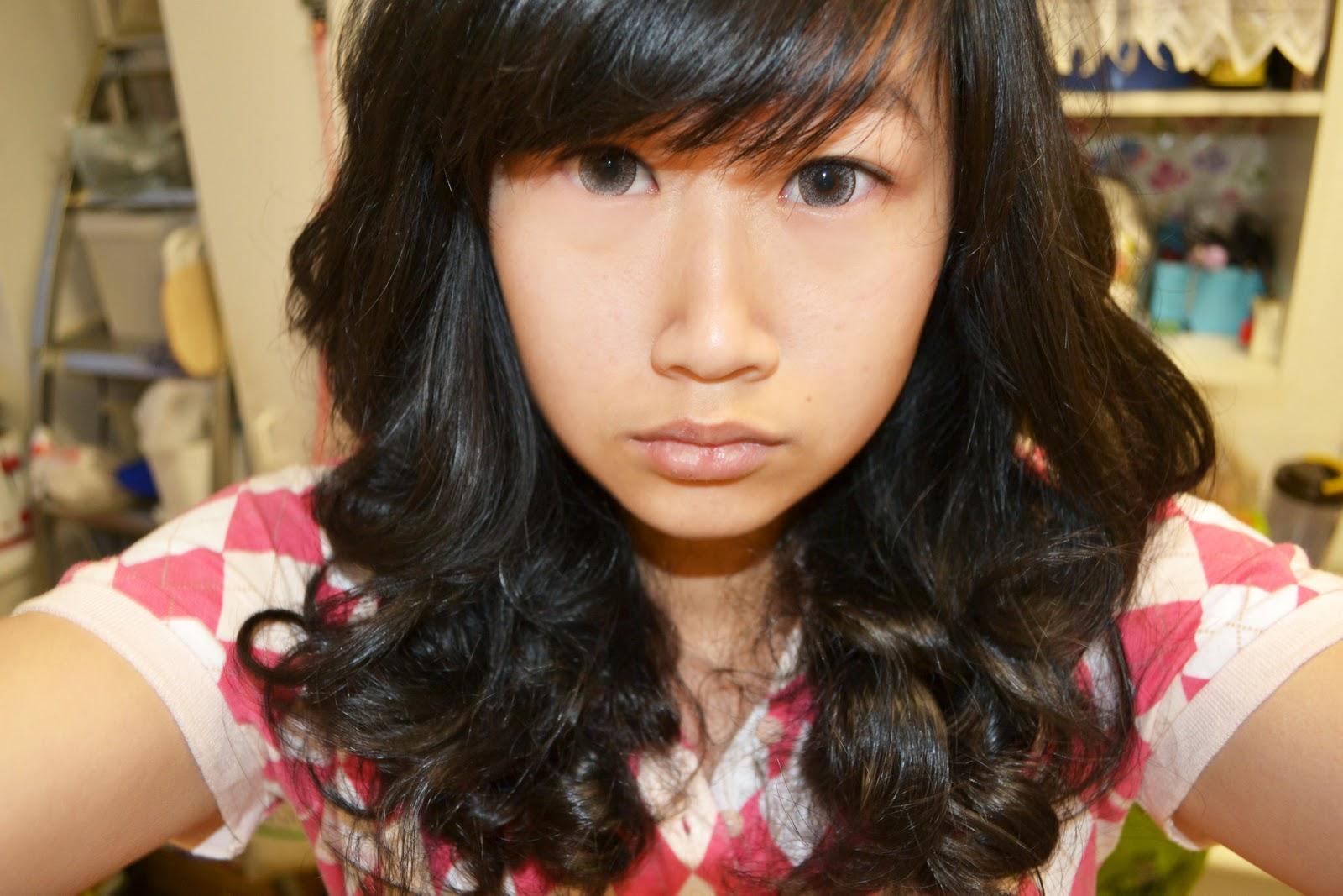 Supermeows Wonderland Gyaru Hair Inspiration Curl Experiments