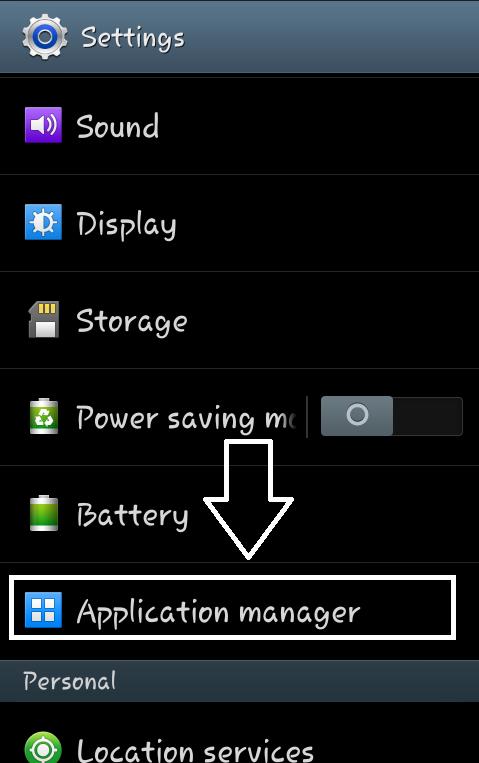 अब अपने फ़ोन के Settings में जाकर Apps Manager (Installed Apps) पर क्लिक करें और वहां All Section में Gallery को ...