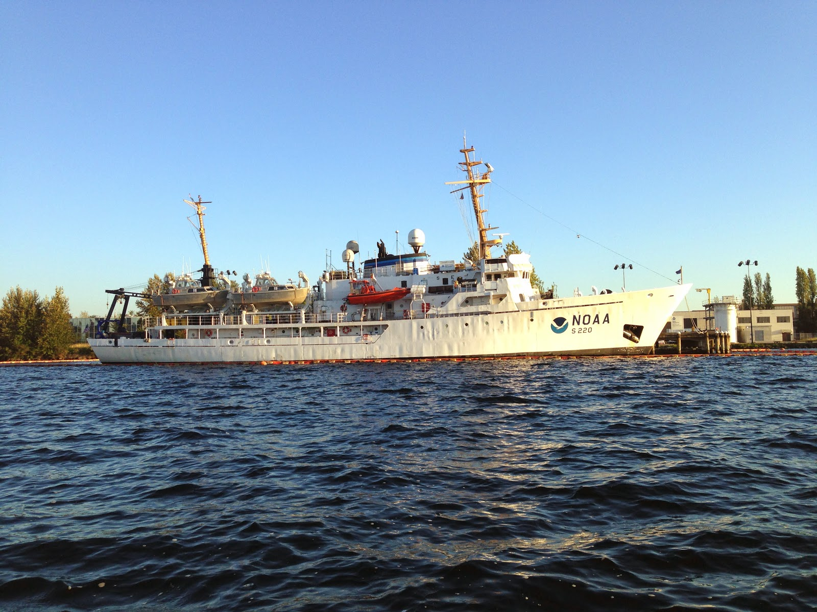 The NOAA Fairweather Hydrographic Survey Vessel