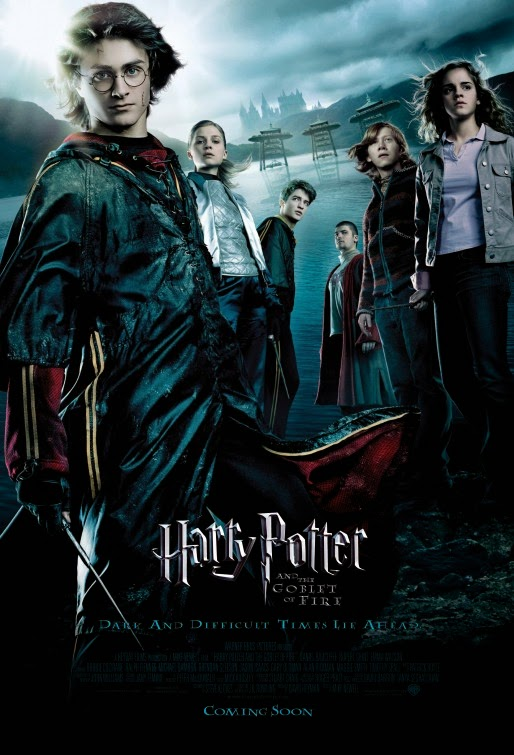 Harry Potter Goblet of Fire movie poster