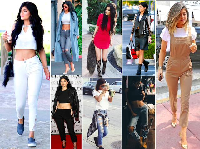 Beautiful member of the Kardashian family, Kylie Jenner has a gorgeous style