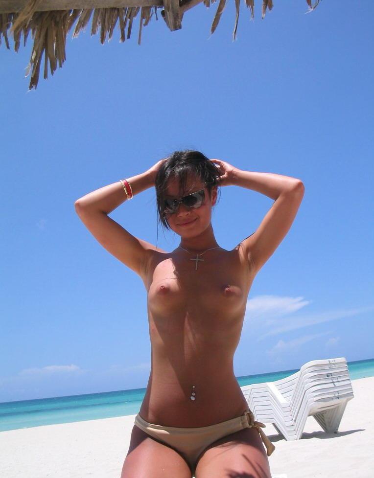 Son trying asian nudist resort