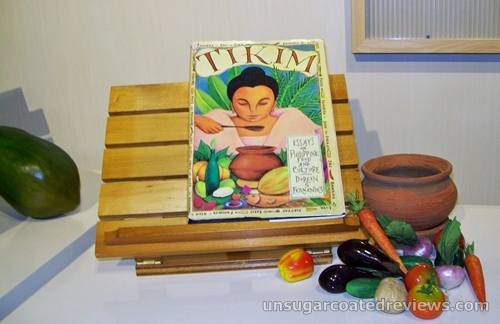 Tikim Filipino cuisine book by Doreen Fernandez