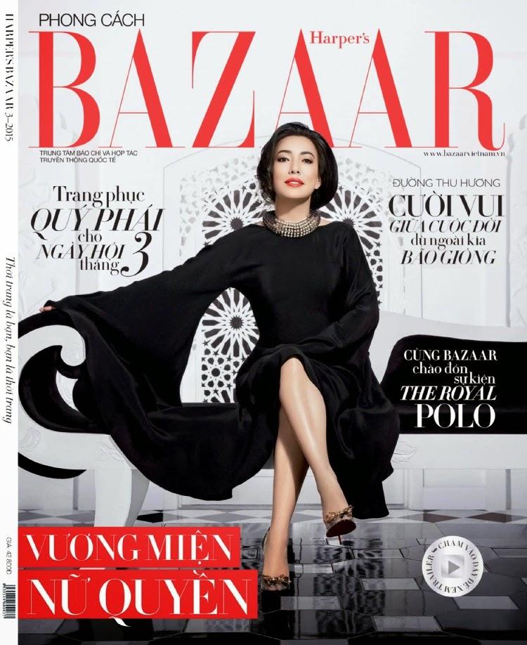 Author: Duong Thu Huong - Harper's Bazaar Vietnam, March 2015
