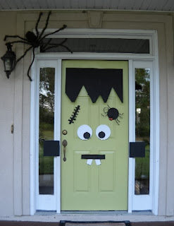 Brujitadelux puertas decoradas halloween for Imagenes puertas decoradas halloween