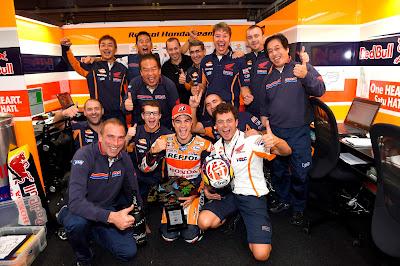 Ο Pedrosa κερδίζει την 50η νίκη για τη Honda στο Ιαπωνικό GP στο Motegi
