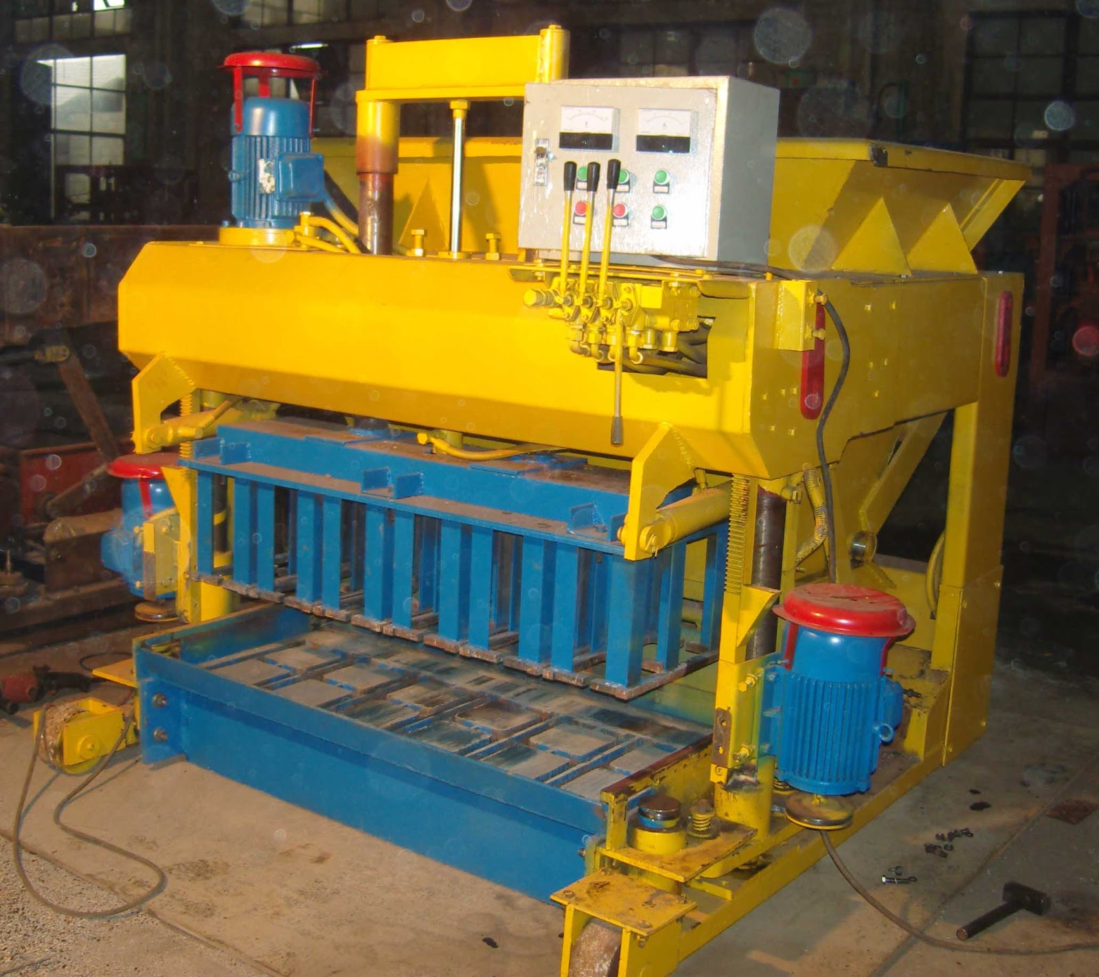 brick laying machine