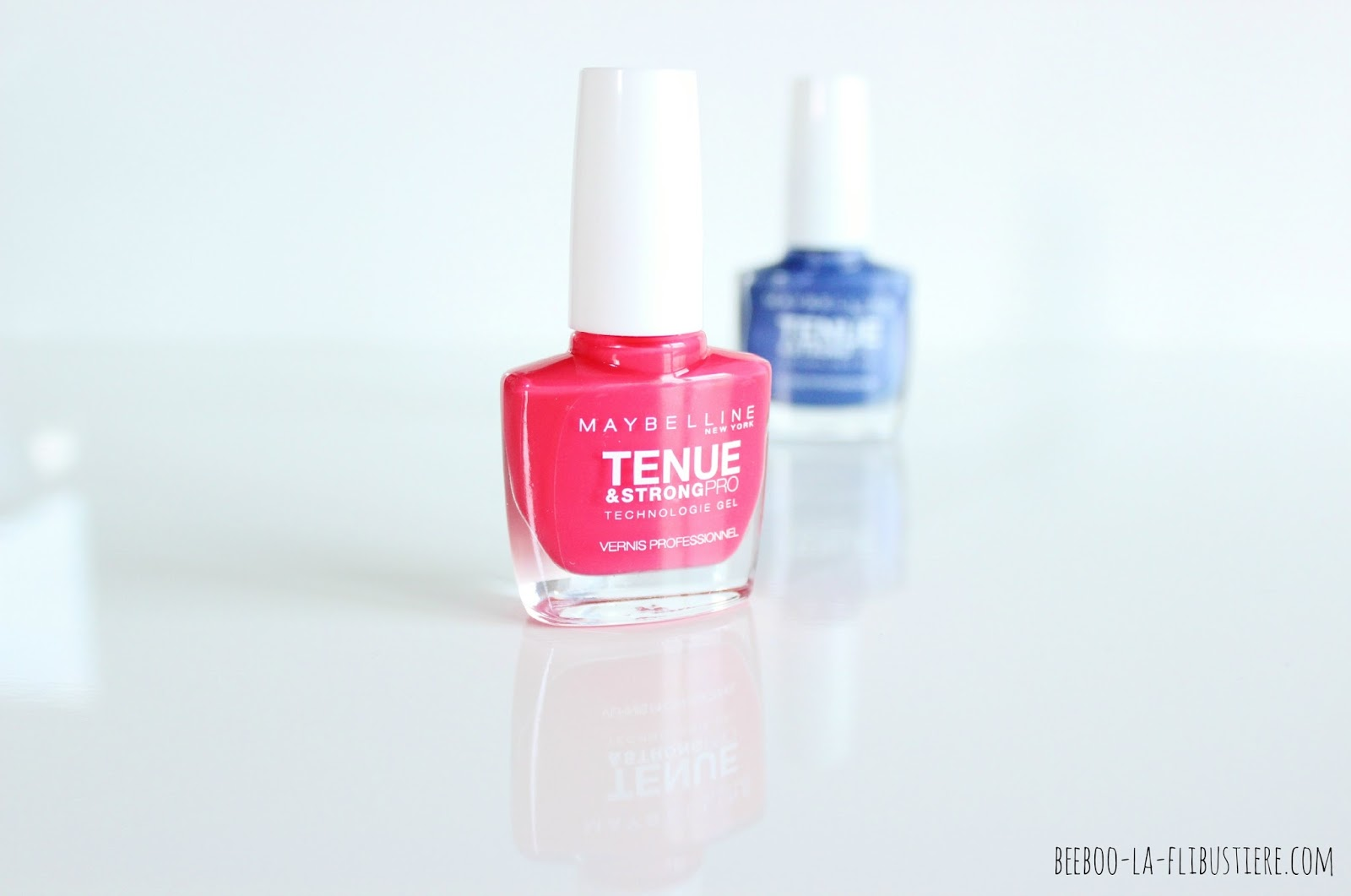 tenue & strong pro maybelline 490 Rose Salsa
