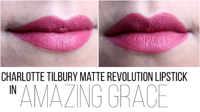 Charlotte Tilbury Matte Revolution en Amazing Grace