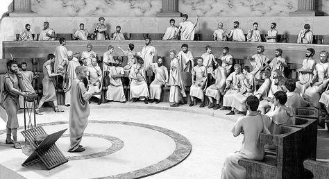 Ciudadanos romanos y antigua Roma