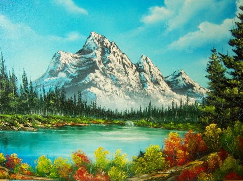 cuadros-al-oleo-con-paisajes-de-montanas