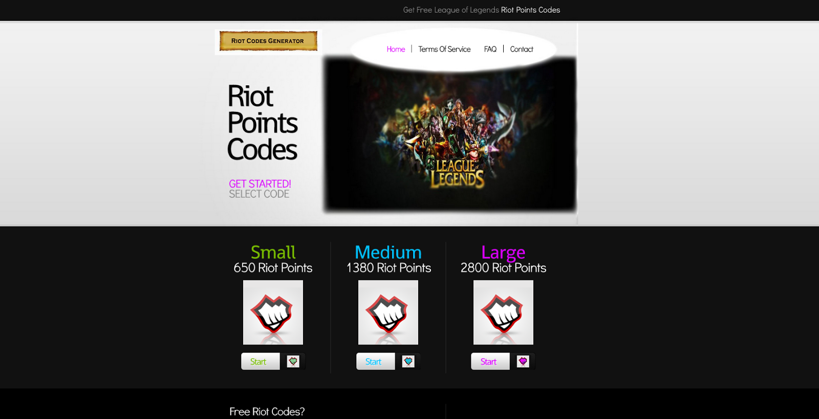 free riot points with the riot points generator lolriotguide - HD1600×820