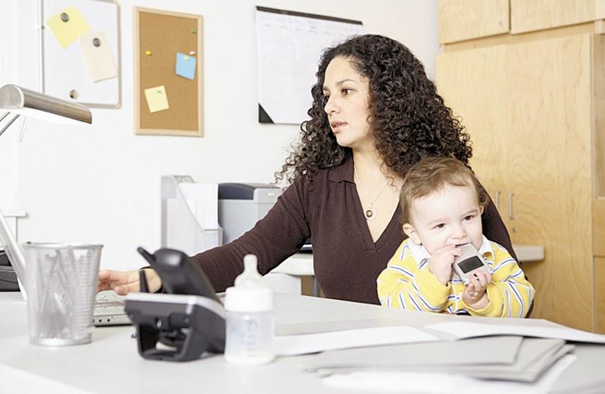 Consejos para una madre que tiene su oficina en casa for Que tiene una oficina