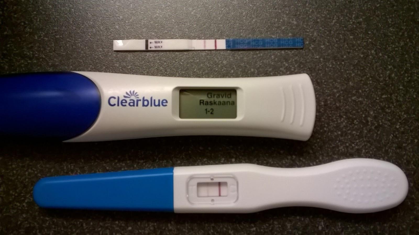 positiivinen raskaustesti aikaisintaan