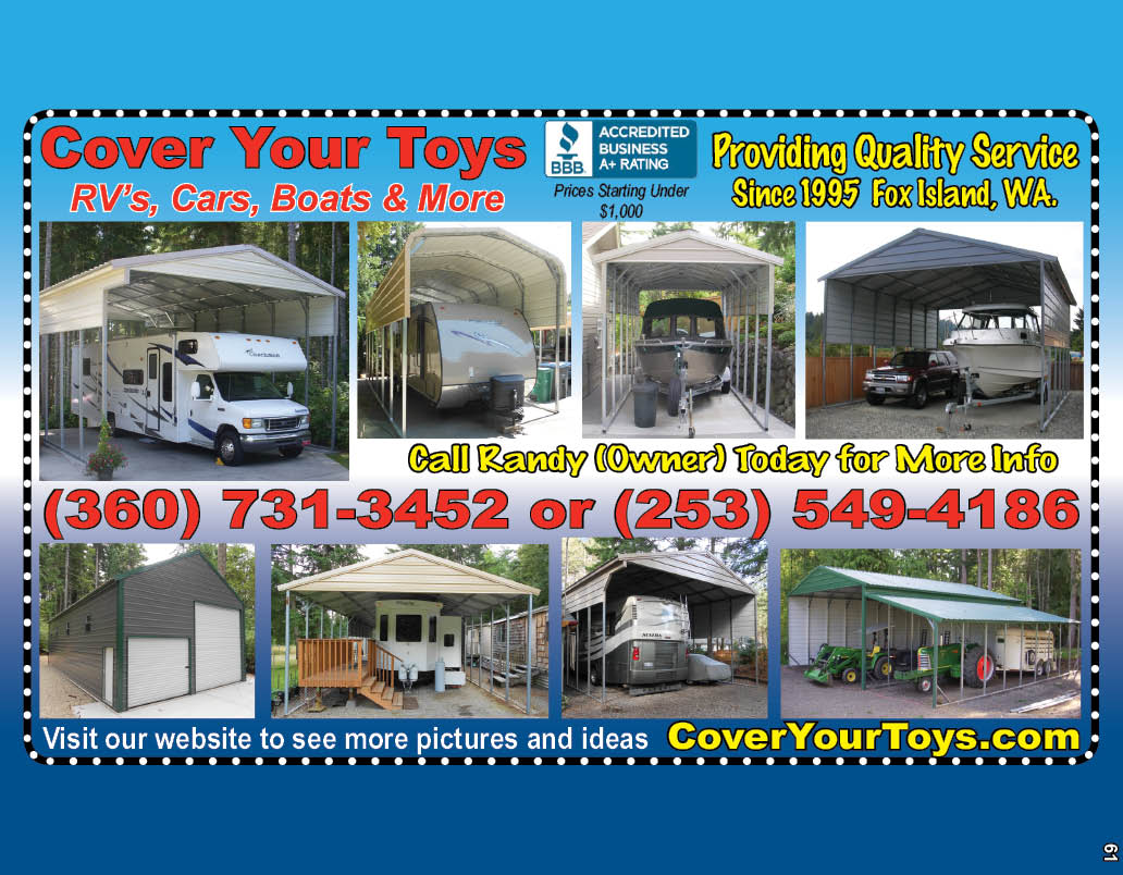 Cover Your Toys Providing Quality Service Since 1995!!
