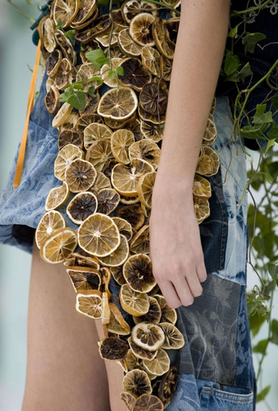 Платья из природных материалов фото