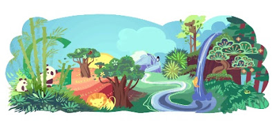 Google April 22, 2011 Earth Day