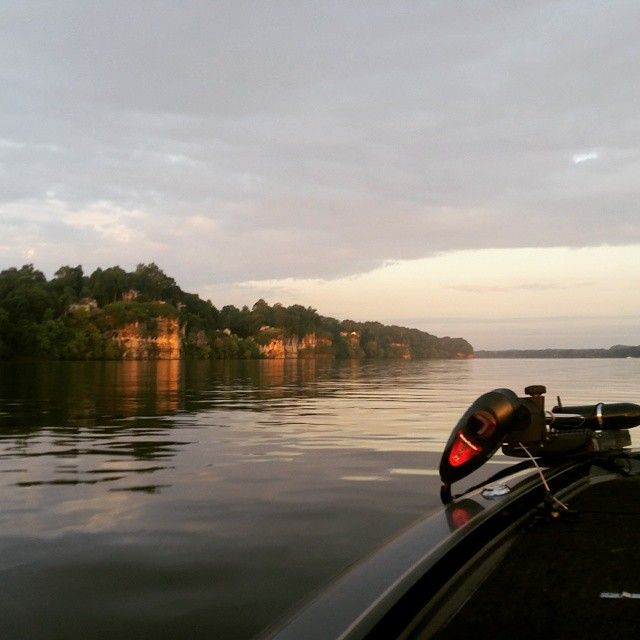 Best5zach outdoors fishing report for pickwick 5 30 15 for Pickwick fishing report