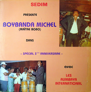 Sedim Pr?sente Boybanda Michel(Ma?tre Bobo) dans Sp?cial 3?me Anniversaire,avec Les Rumbaya International,Sedim