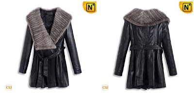 Women Fashion Sheepskin Coat