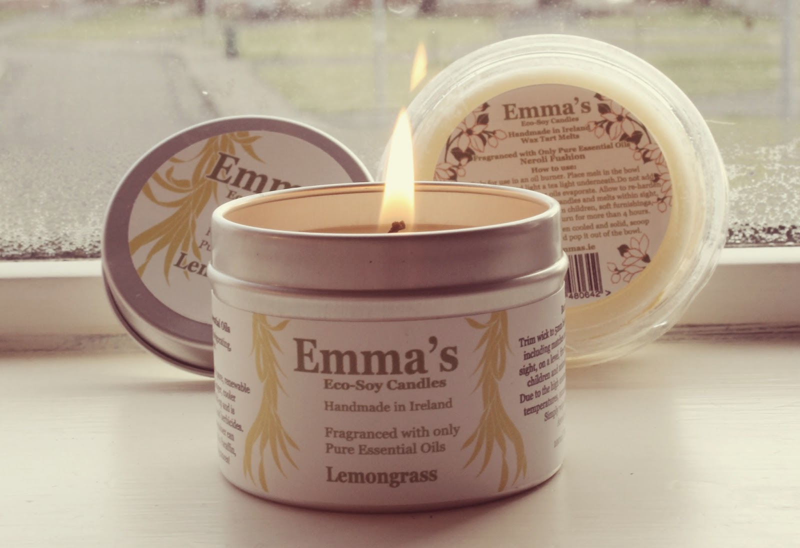Emma's Eco-Soy Candles lemongrass