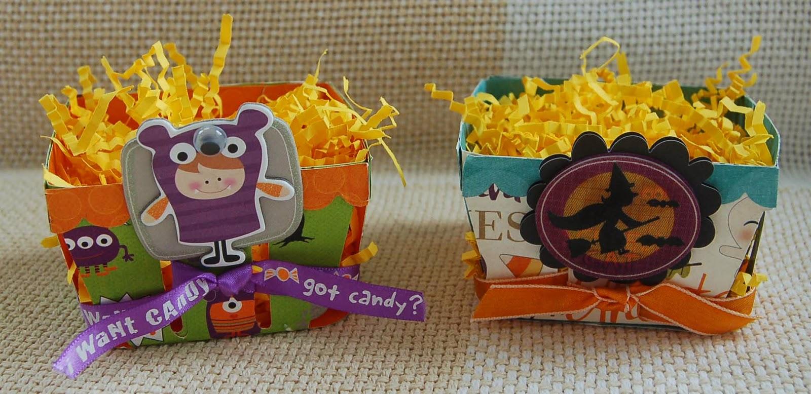 Lynn's Craft Blog: Halloween Treat Baskets