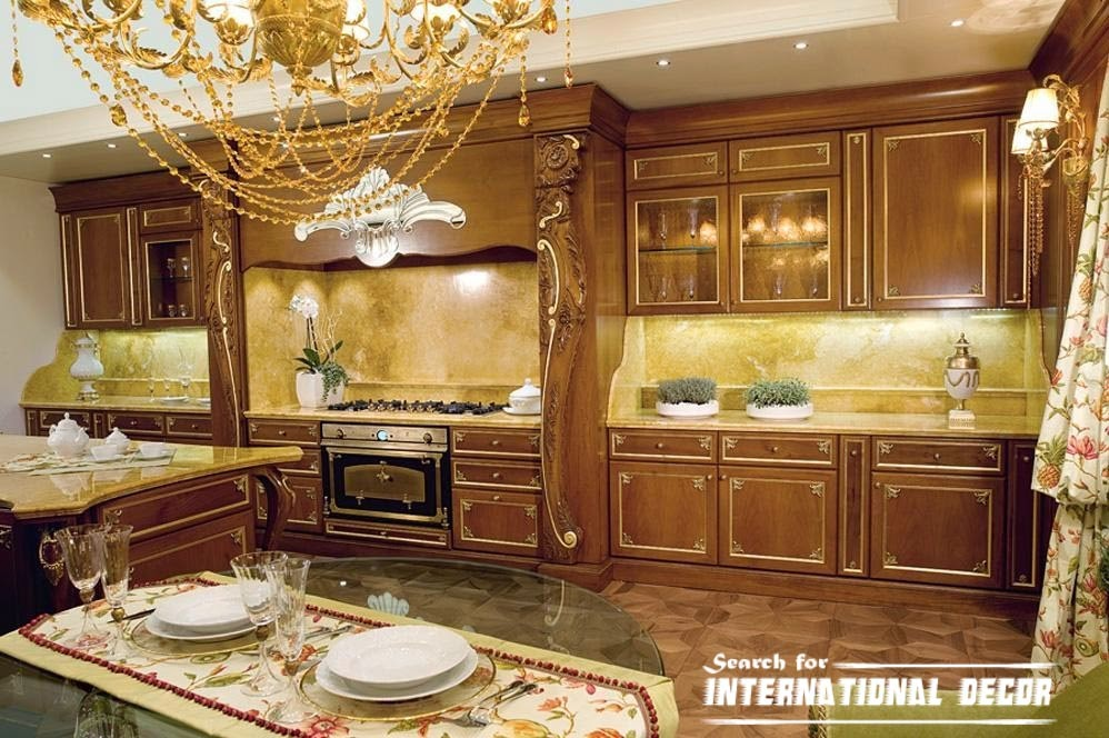 Exclusive designs of italian kitchen and cuisine Italian designs