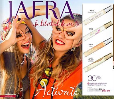 Jafra Catalogo de Agosto 2015 Mexico