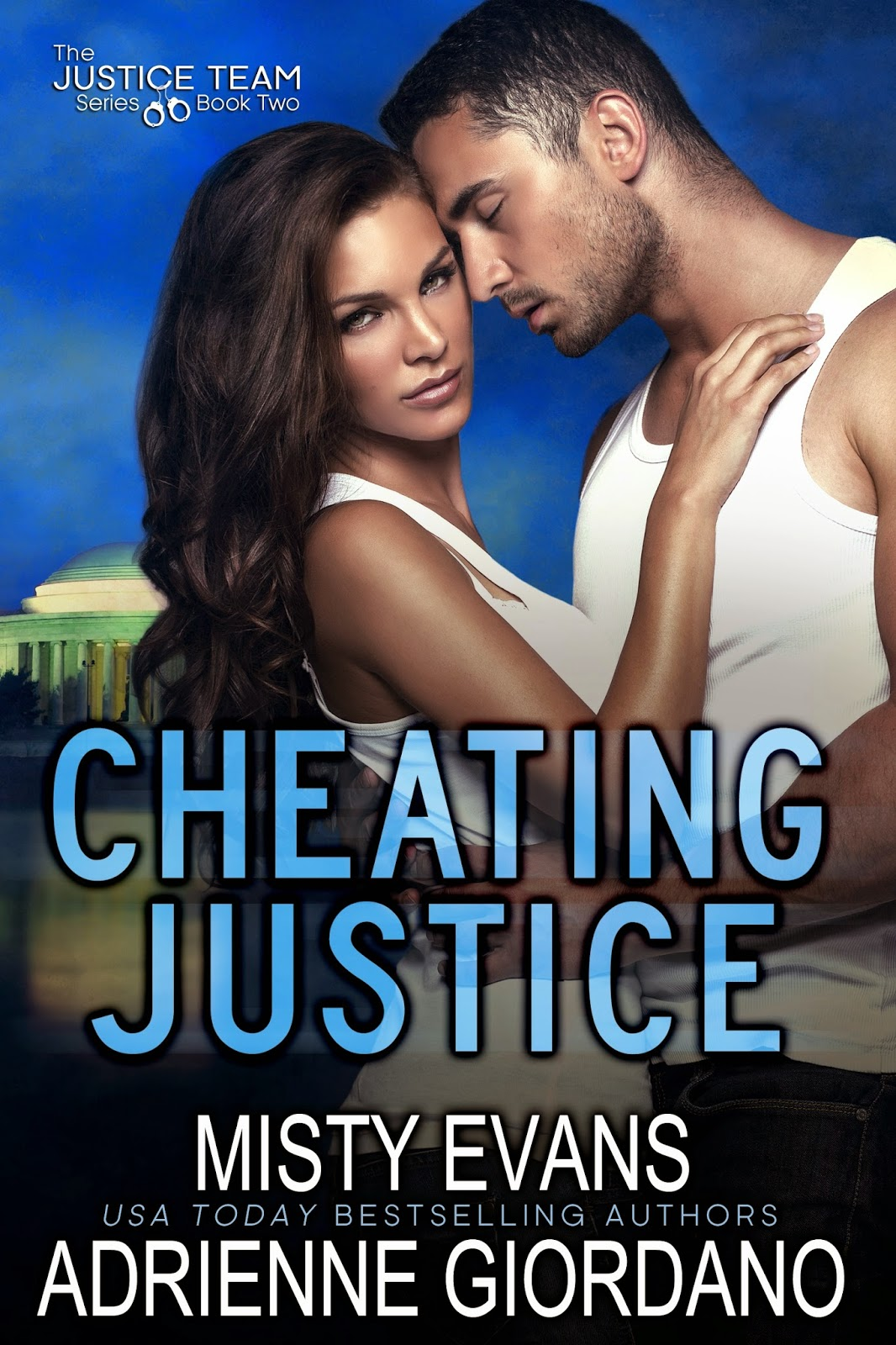 http://www.amazon.com/Cheating-Justice-Team-Book-ebook/dp/B00LXGS0P2/ref=sr_1_7?ie=UTF8&qid=1405893413&sr=8-7&keywords=misty+evans