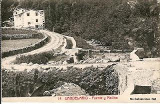 Candelario Salamanca fuente y molino