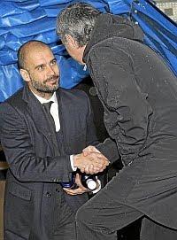 Mourinho y Guardiola una vez más frente a frente