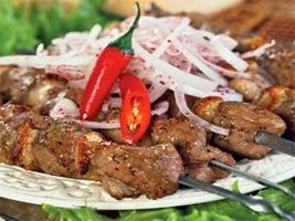 Шашлык из говядины - рецепт приготовления