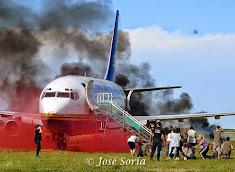 Simulacro de Accidente Aéreo en el Aeropuerto Int. de Córdoba 2014