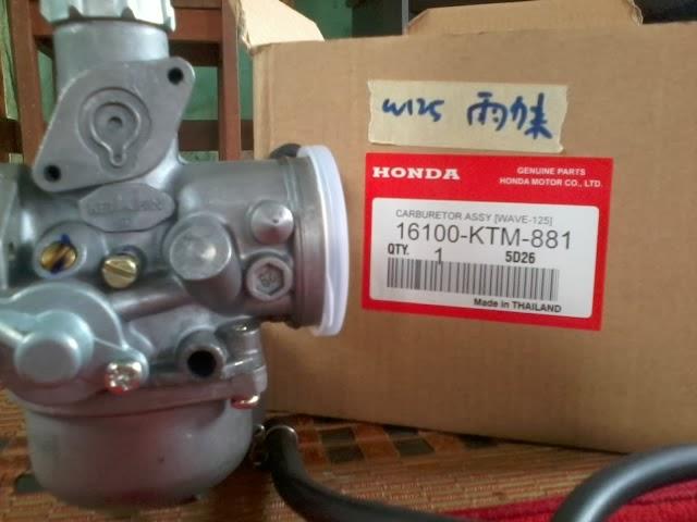 ... honda thai rm70 carb kriss120 original 100 % dari modenas rm135 tempah