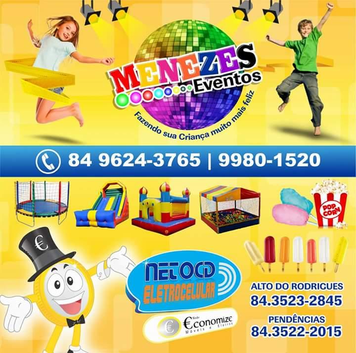 Menezes Eventos fazendo a festa da criançada!