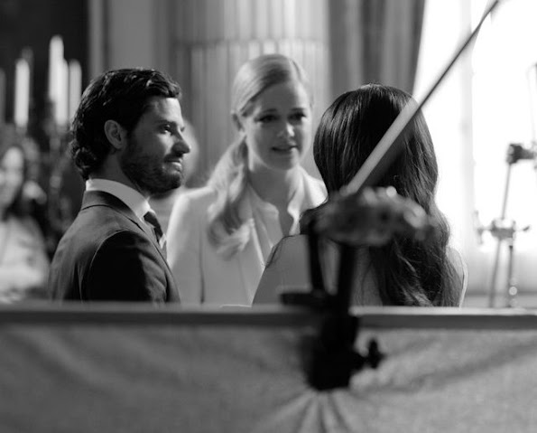 "The program ""Sofia Hellqvist and Prince Carl Philip"" will be shown on SVT1 and SVT Play on Friday 12th at 20.00"