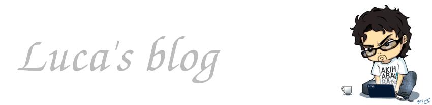 Luca's blog