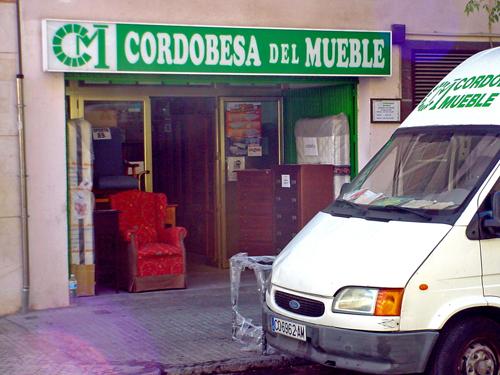 Barrio santa rosa cordobesa del mueble - Muebles cordoba espana ...