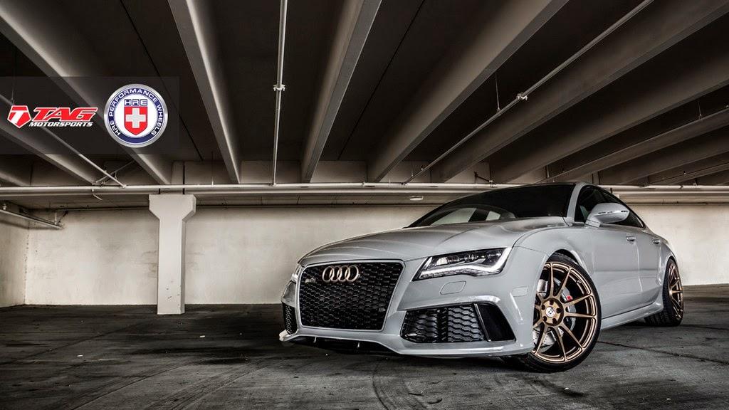 Audi Rs7 In Nardo Grau Und Satin Bronze Von Tag Motorsport