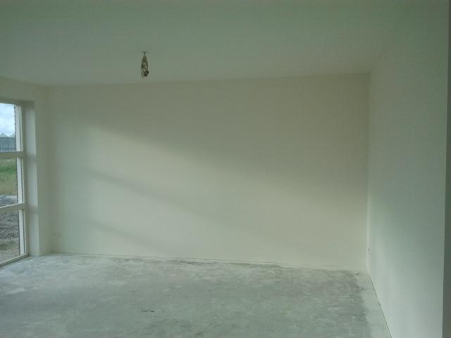 Maiko en debby bouwen hun droomhuis het resultaat van het spuitwerk - Kleur muur slaapkamer kind ...