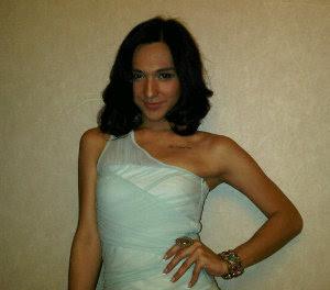 Foto Renaldy 'Krucil' Jadi Transgender