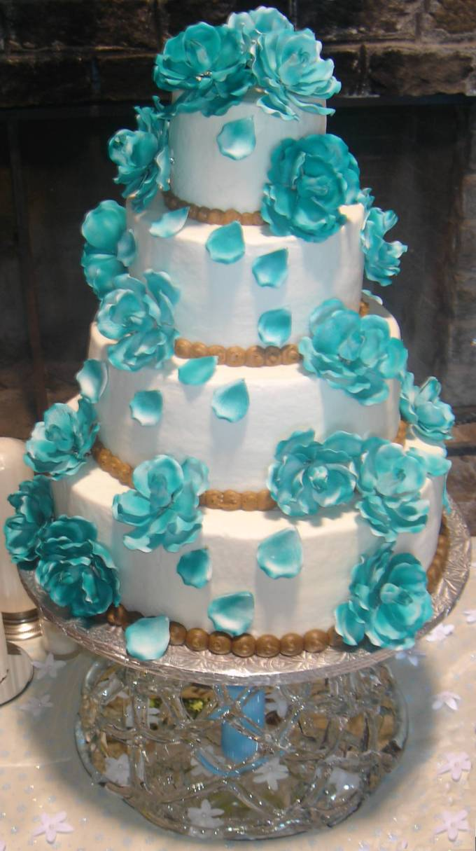 Turquoise wedding dress Reference For Wedding Decoration