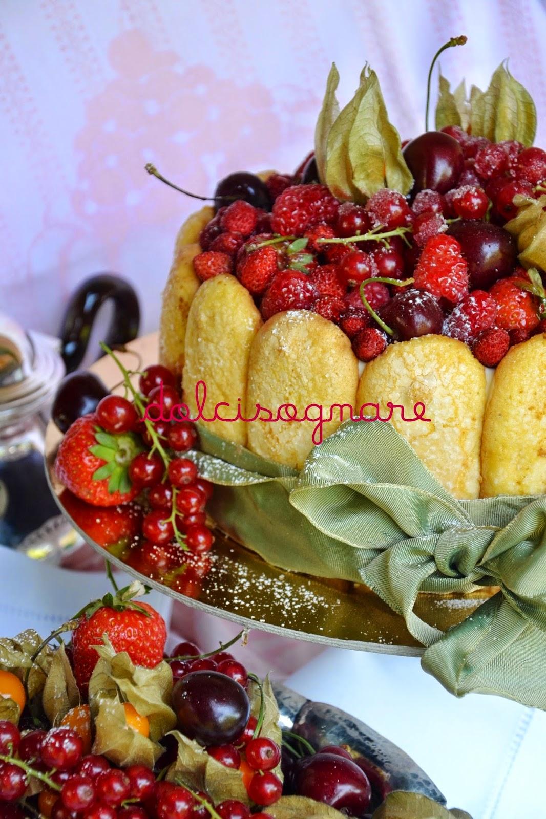 charlotte ai frutti rossi