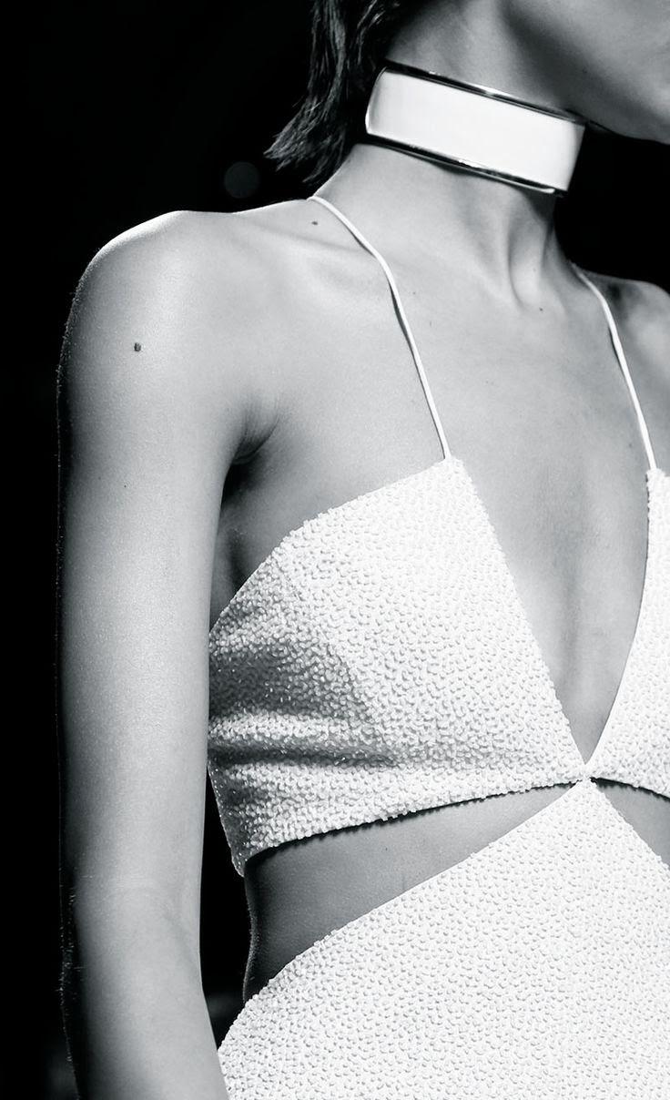Tendências moda primavera-verão 2015 gargantilhas
