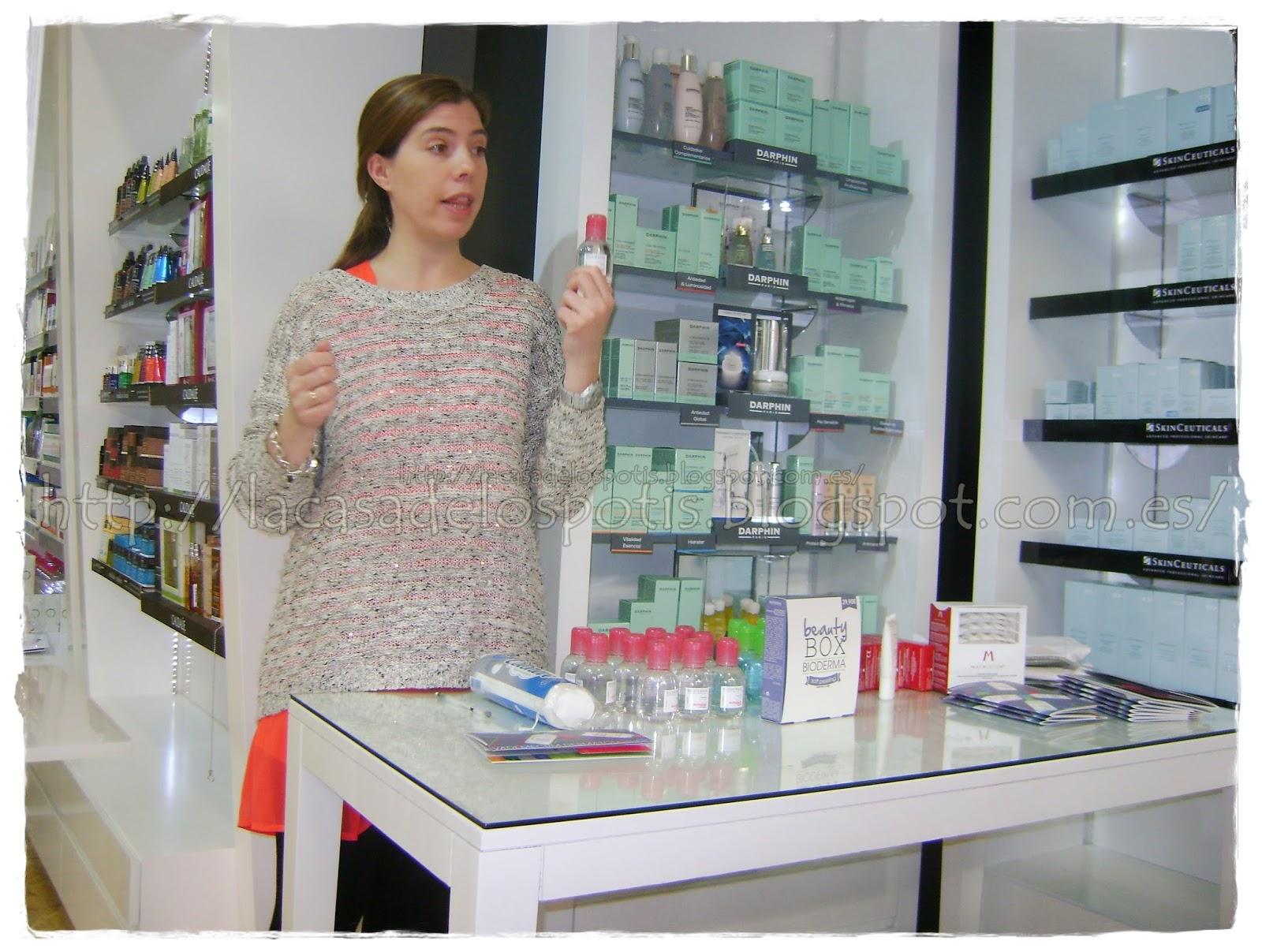La casa de los potis evento bioderma en farmacia a5 - La farmacia en casa ...