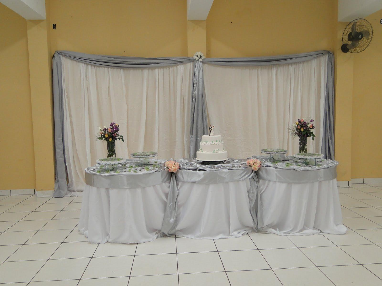 decoracao branca casamento:Ateliê Pronto Art: Decoração Casamento – Branco e Prata