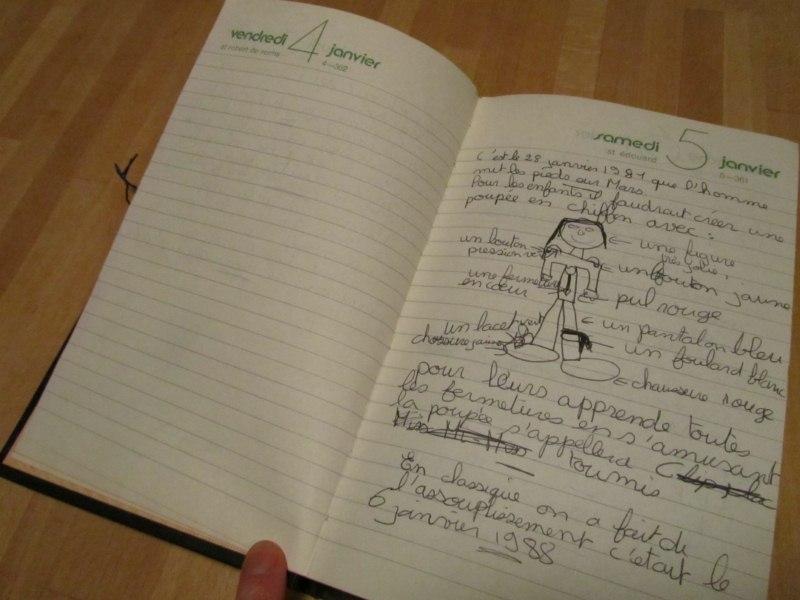 Coucoucanada extraits de mon journal intime - Comment faire un journal ...
