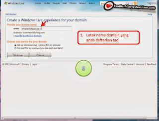 Picture8 Buat Email @1Malaysia Dengan Domain Sendiri Secara PERCUMA!!!